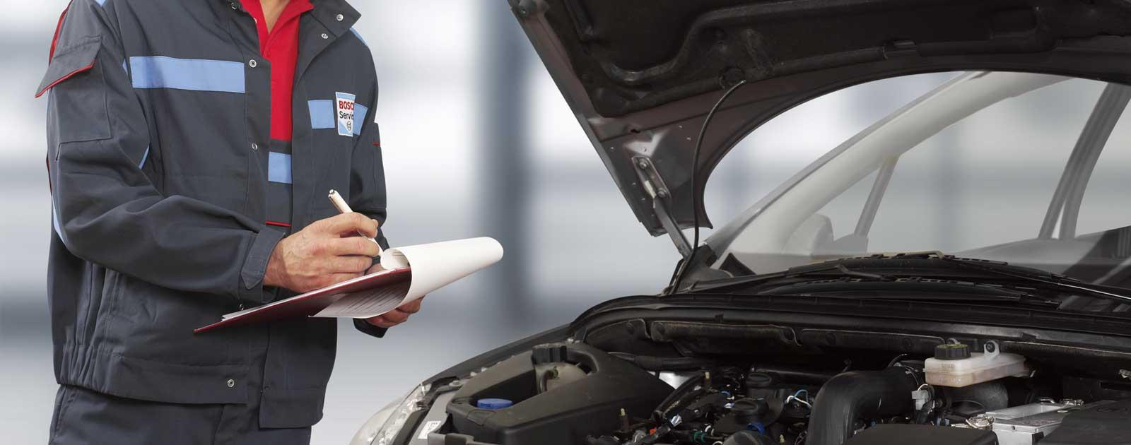 Bosch Auto Inspektions Service in Coburg